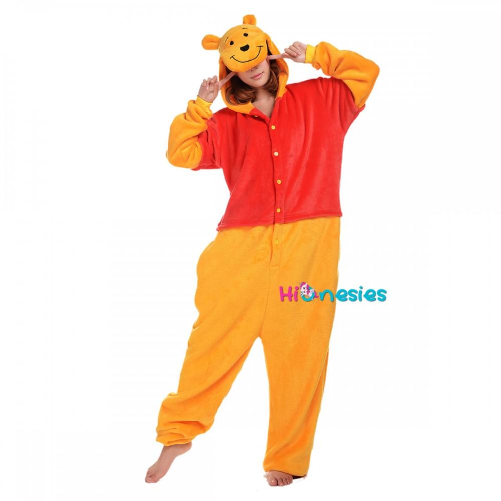 Winnie The Pooh Onesie Winnie The Pooh Pajamas For Adult