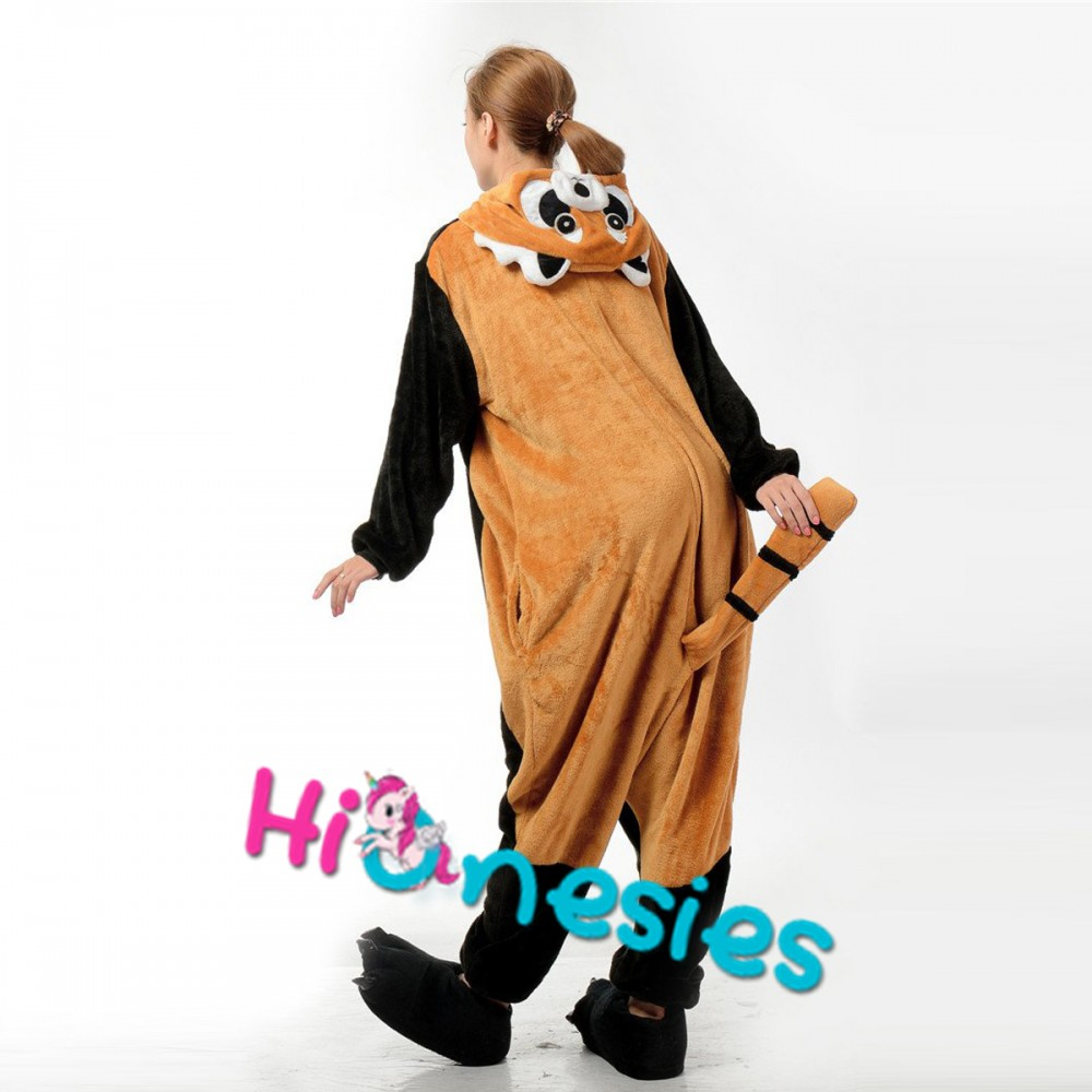 Adult Onesie Animal Red Panda