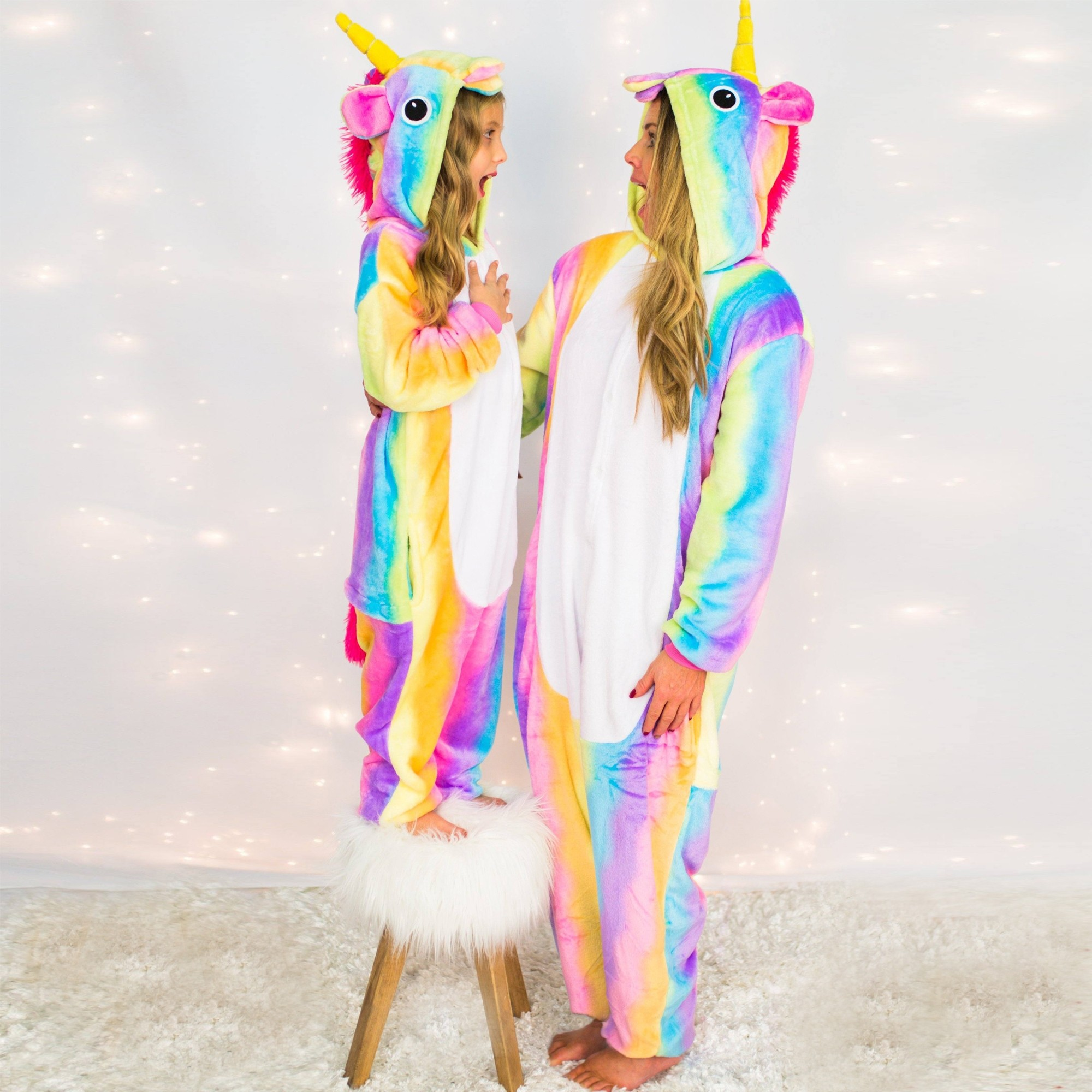 Mommy Amp Me Rainbow Unicorn Pajamas Sold Separately
