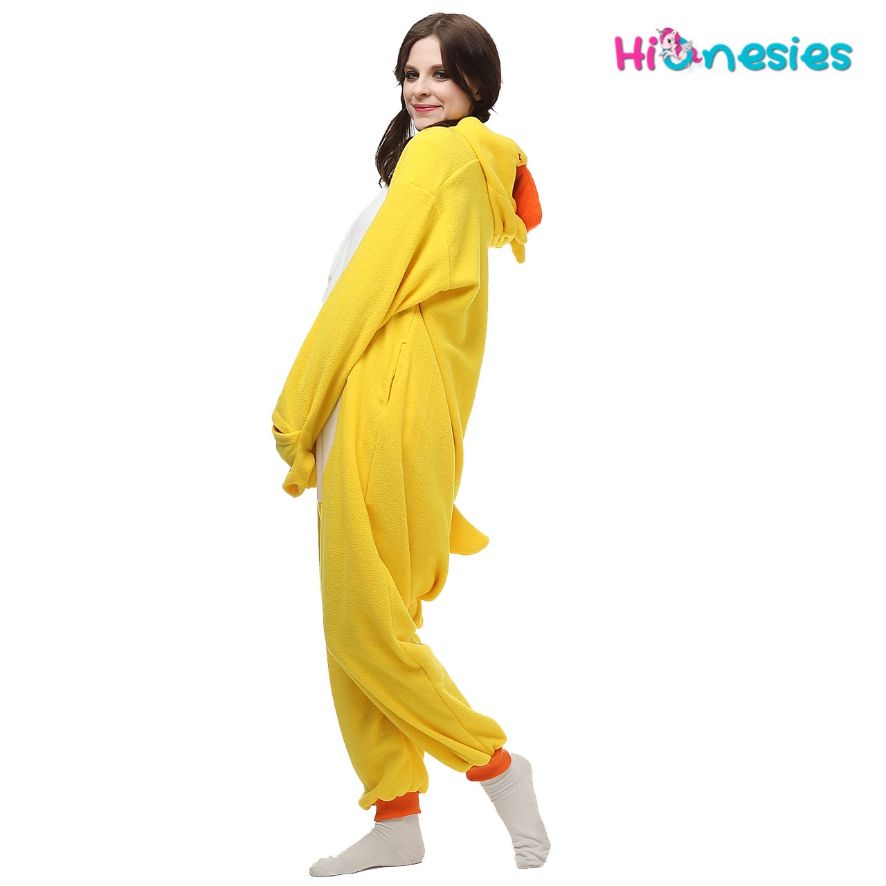 3c60359db0 Loading ... Yellow Duck Onesie for Adult Animal Pajamas Kigurumi Party  Costumes · Yellow Duck Onesie ...