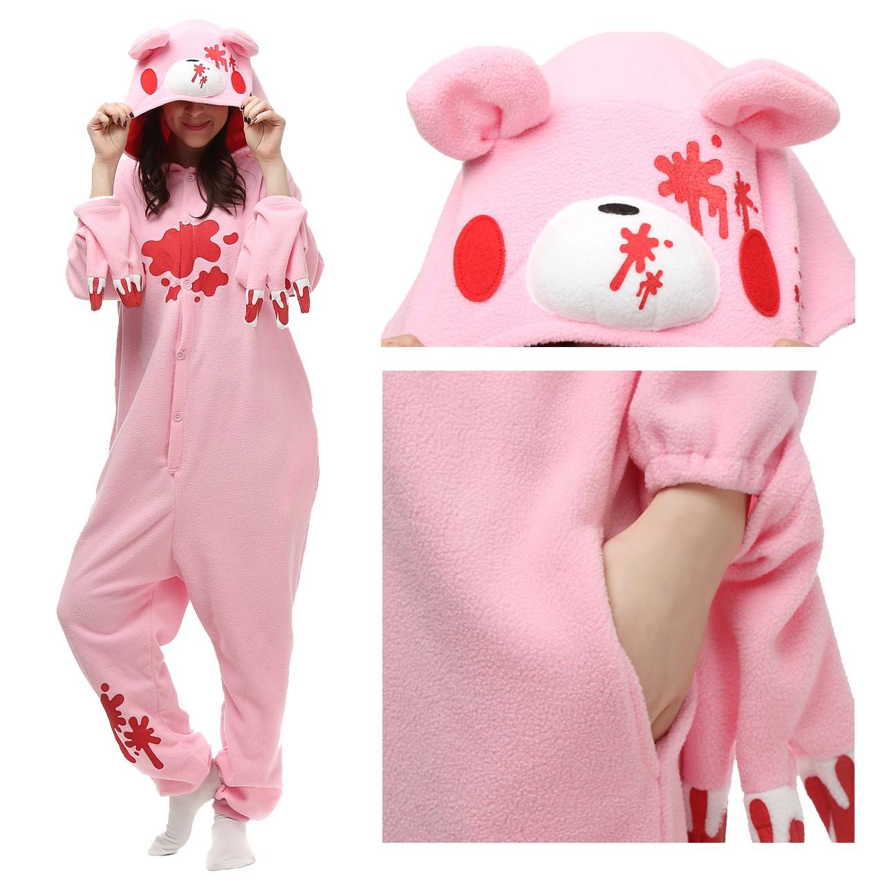 63042b644 Gloomy Bear Pink Onesie
