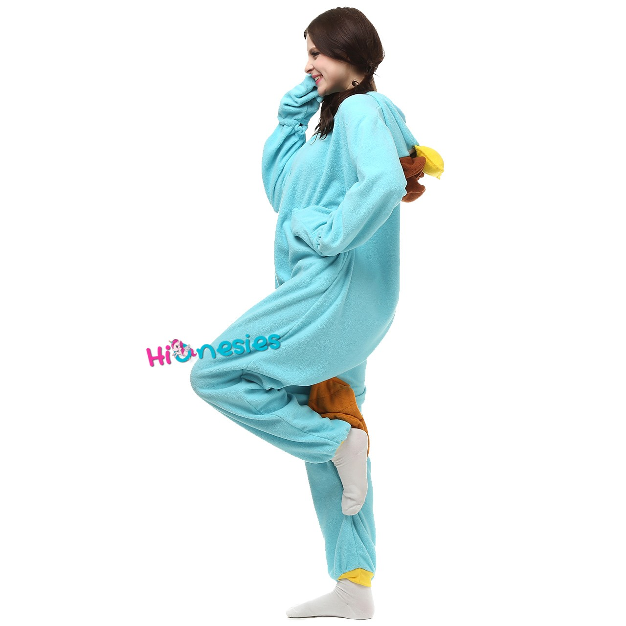 Loading ... Perry the Platypus Onesie for Adult Disney Phineas and Ferb  Party Costumes · Perry the ... 05cb72085