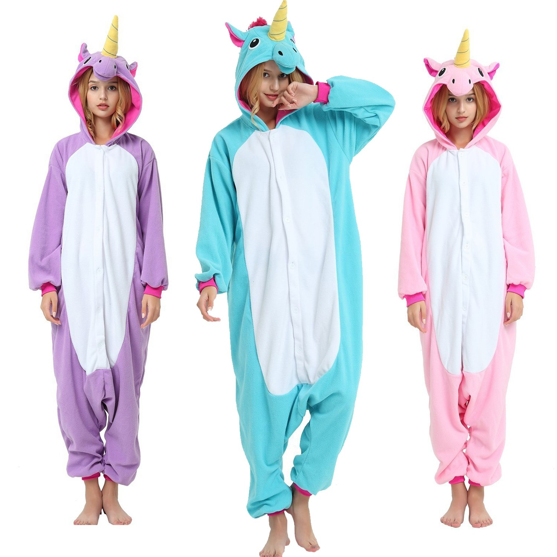 a15d22350429 Unicorn Onesie Unisex Women   Men Animal Kigurumi Pajama Online Sale