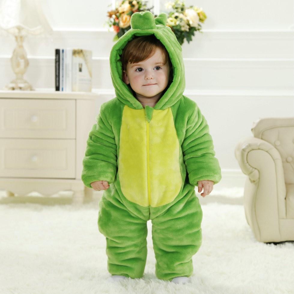 Green Dinosaur Onesie For Baby Amp Toddler Animal Kigurumi