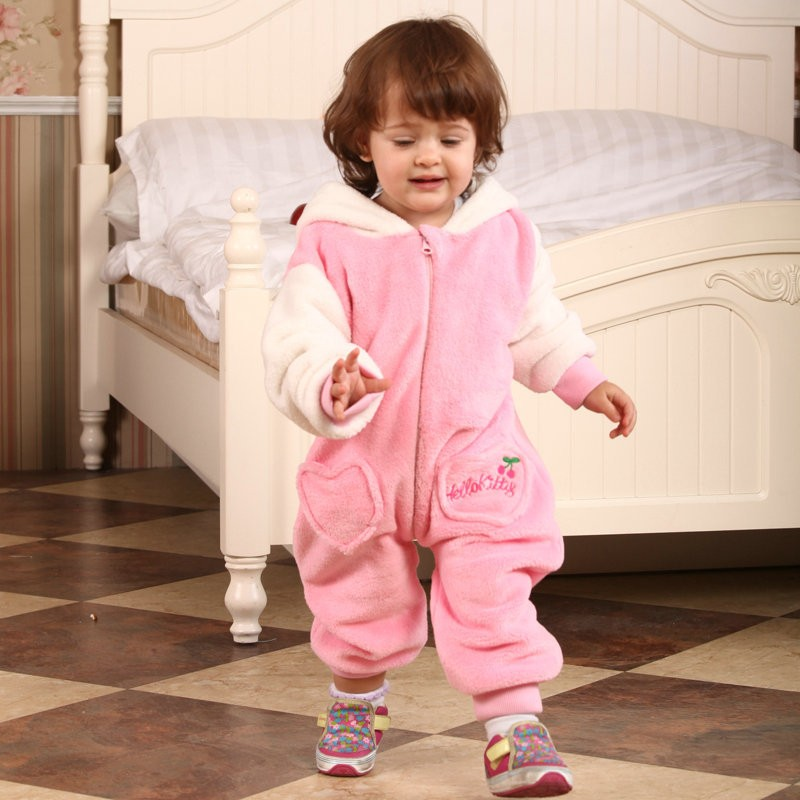 d4a06ab72 Hello Kitty Onesie for Baby & Toddler Animal Kigurumi Pajama Party Costumes