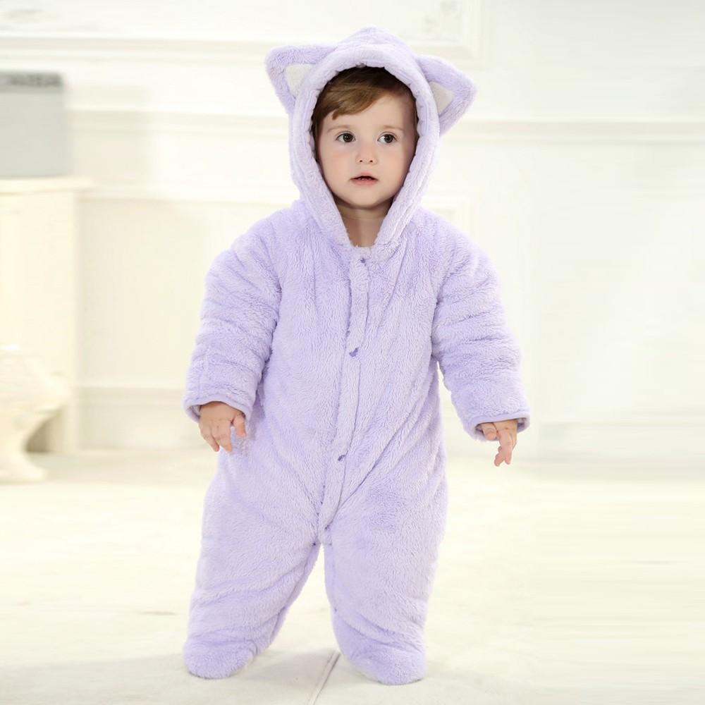 Purple Bear Onesie For Baby Amp Toddler Animal Kigurumi