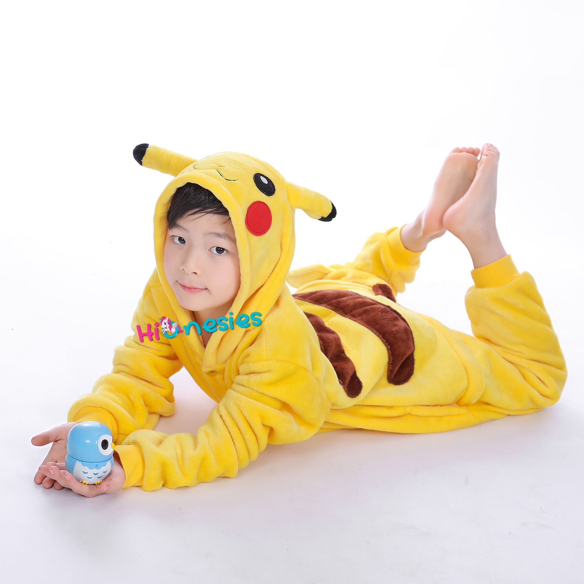 pikachu onesie for kid animal kigurumi pajama pokemon halloween costumes