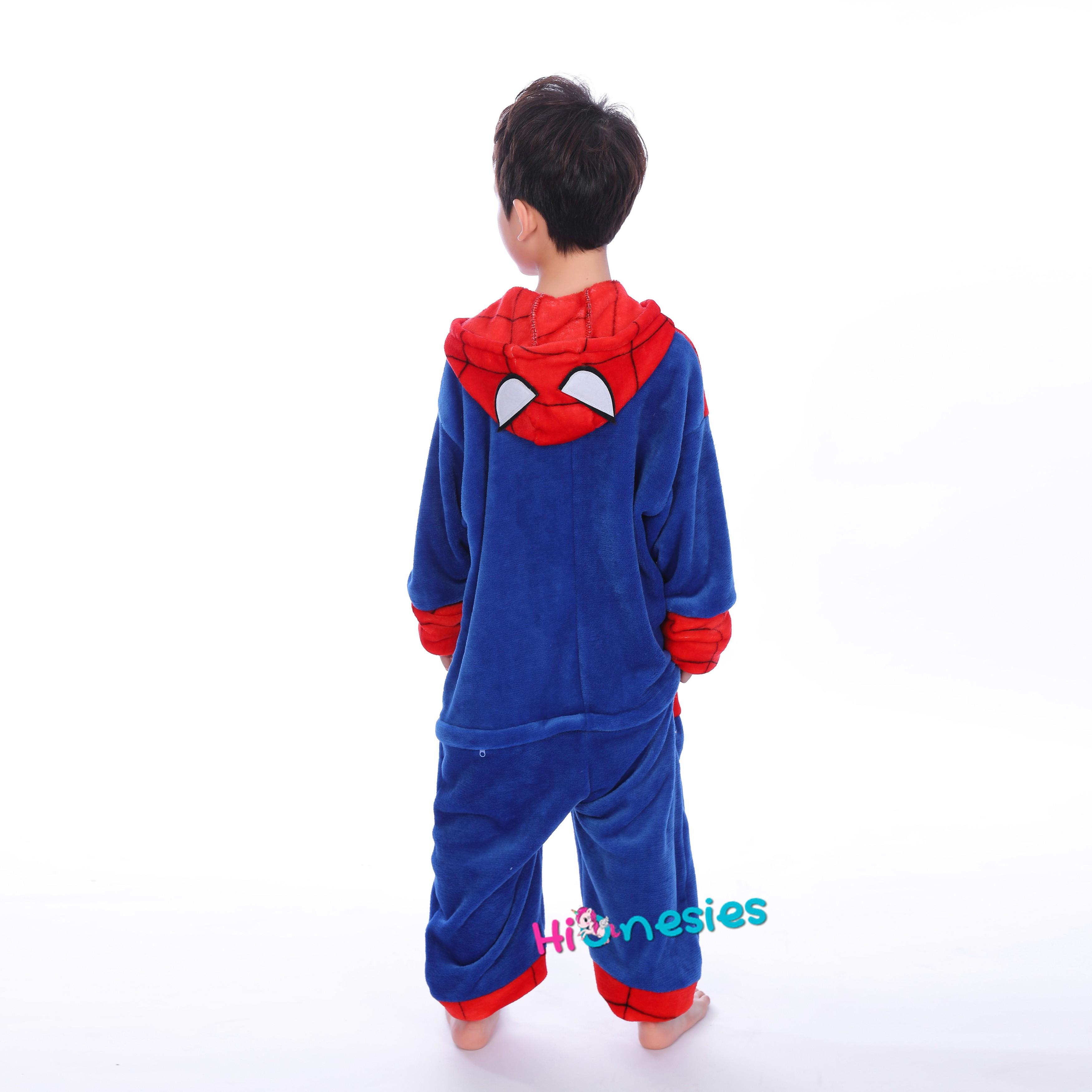 776b5d9171 Loading ... Spiderman Onesie for Kid Kigurumi Pajama Halloween Costumes ·  Spiderman Onesie for Kid Kigurumi Pajama ...