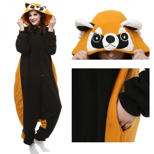 Red Panda Onesie Unisex Women &Men Animal Pajama Kigurumi Party Costume