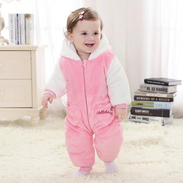 Hello Kitty Onesie for Baby & Toddler Animal Pajama Kigurumi Party Costumes