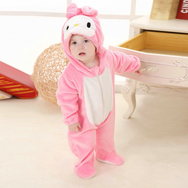 My Melody Onesie for Baby & Toddler Animal Kigurumi Pajama Party Costumes