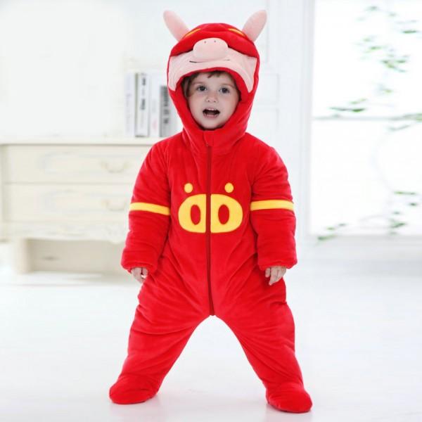 GG Bond Onesie for Baby & Toddler Animal Kigurumi Pajama Halloween Costumes