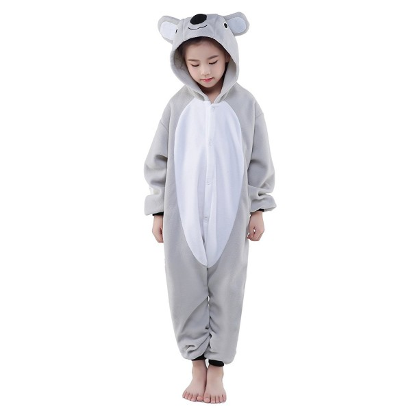 Koala Onesie for Kid Animal Kigurumi Pajama Halloween Costumes