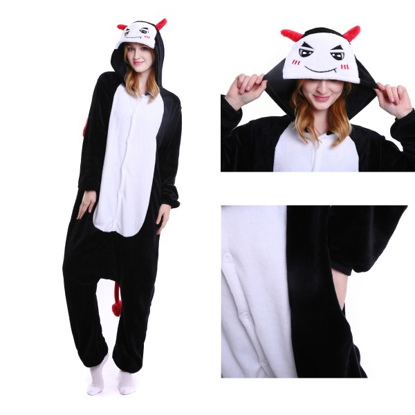 Demon Onesie for Adult Animal Pajamas Kigurumi Party Costumes