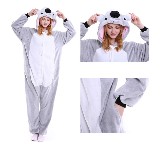 Koala Onesie for Adult Animal Kigurumi Pajama Party Costumes