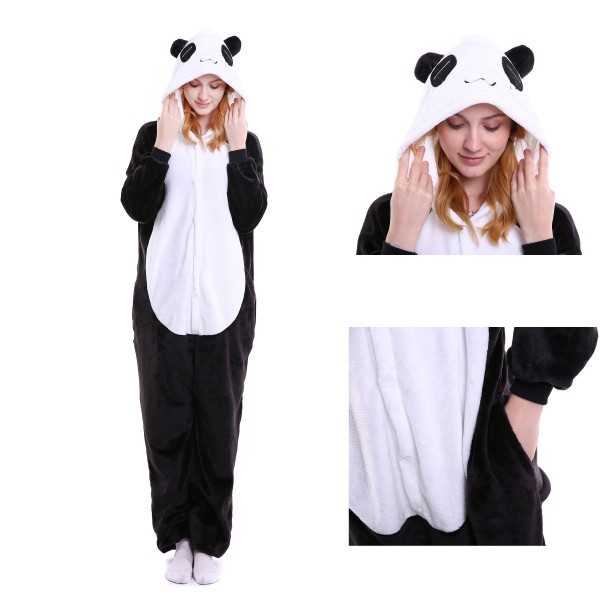 Panda Onesie for Adult Animal Kigurumi Pajama Party Costumes