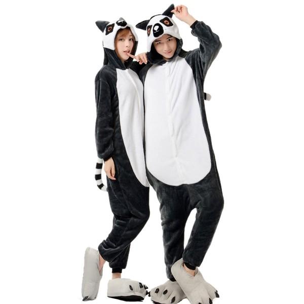 Lemur Onesie for Adult Animal Kigurumi Pajama Party Costumes