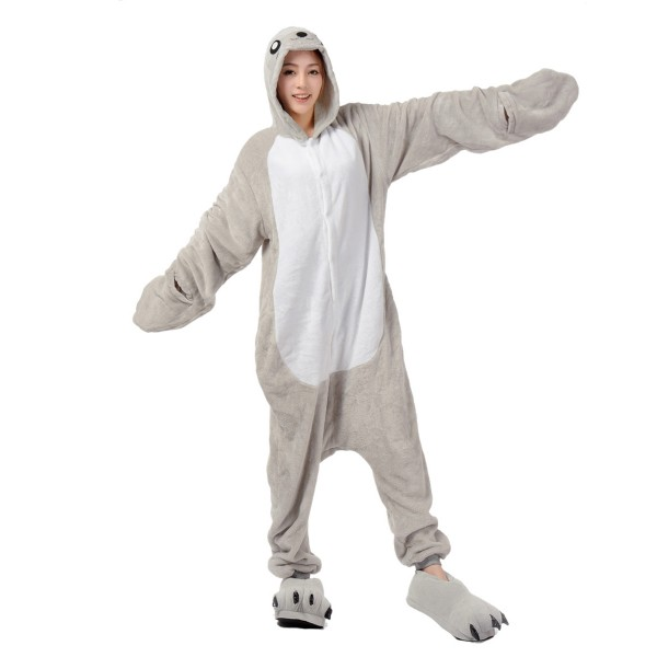 Seal Onesie for Adult Animal Kigurumi Pajama Party Costumes
