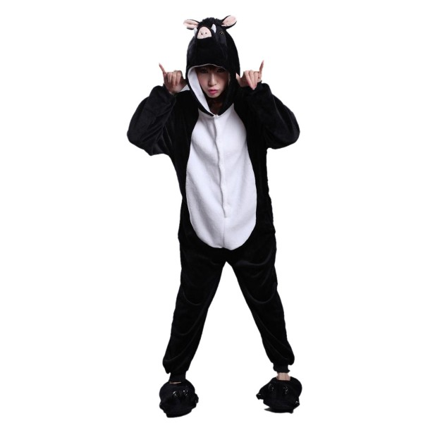 Wild Boar Onesie for Adult Animal Kigurumi Pajama Party Costumes