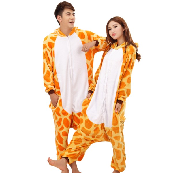 Giraffe Onesie for Adult Animal Kigurumi Pajama Party Costumes