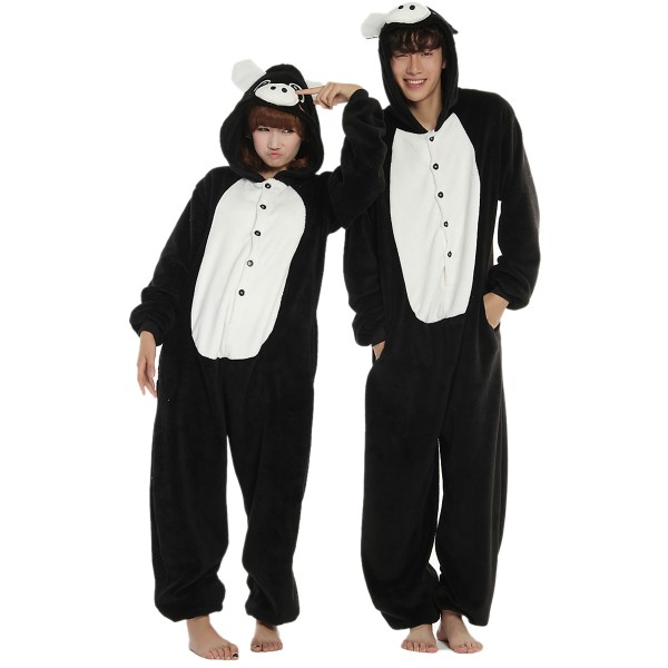 Black Pig Onesie for Adult Animal Kigurumi Pajama Party Costumes