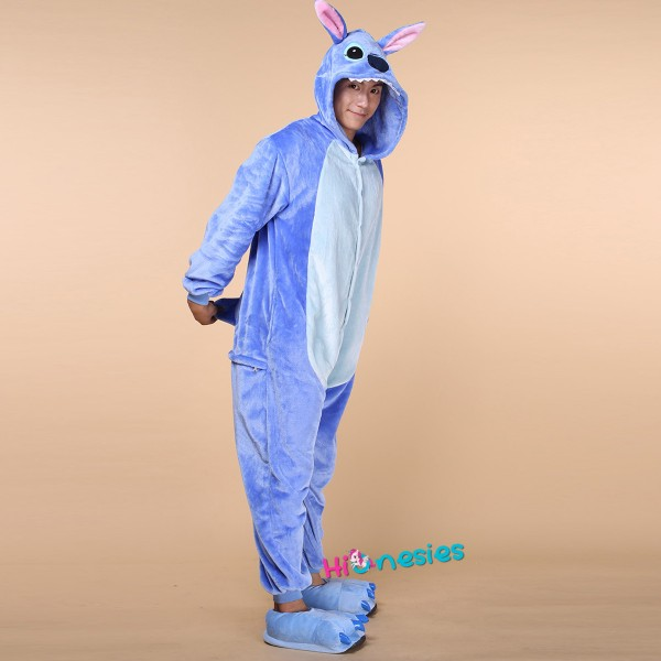 Stitch And Angel Onesie Stitch And Angel Pajamas For Adult Buy Now