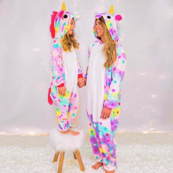 Mommy & Me Dream Unicorn Pajamas Family Onesies