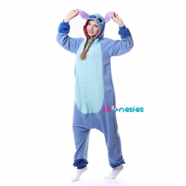 Disney Stitch Onesie Disney Stitch Pajamas For Women Men Online Sale