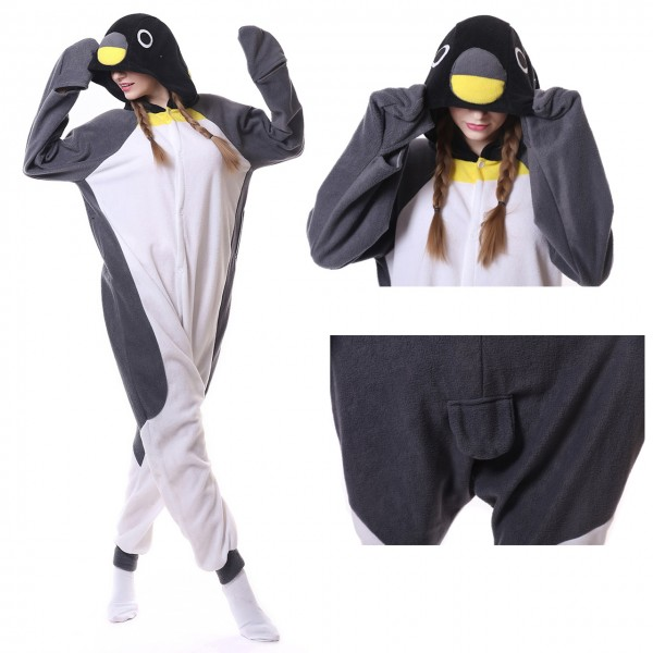 Penguin Onesie Animal Kigurumi Pajama Unisex Wome & Men Party  Costumes