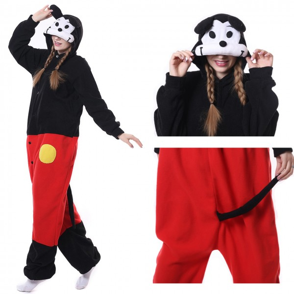 Mickey Mouse Disney Onesie Adult Kigurumi Pajama Carnival Party Costumes
