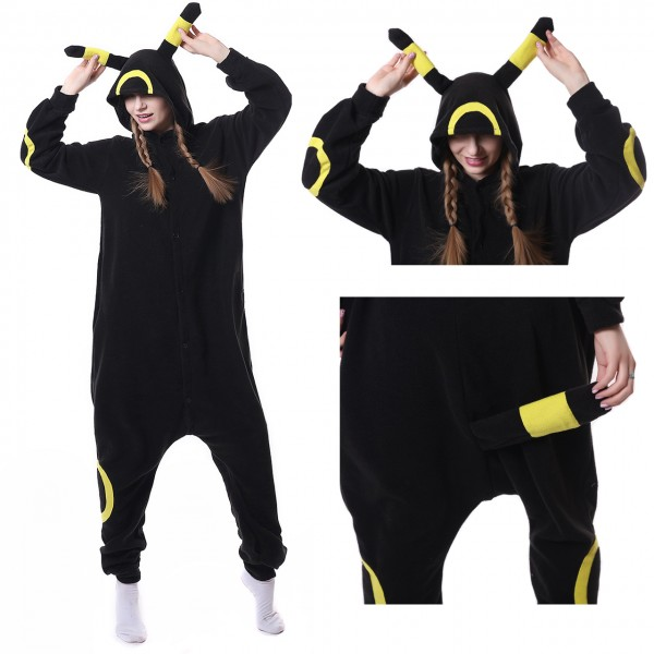 Pokemon Yellow Monster Onesie Unisex Women &Men Pajama Kigurumi Party Costume