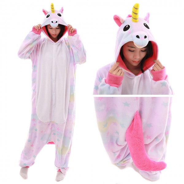 Dreamin Unicorn Unicorn Women & Men Kigurumi Animal Party Costumes