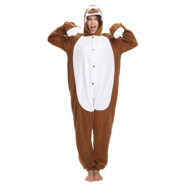 Sloth Onesie Animal Kigurumi Pajama for Adult Party Costumes