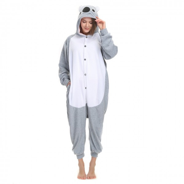 Koala Onesie Animal Kigurumi Pajama Women & Men Halloween Costumes