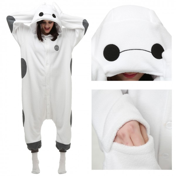 Baymax Onesie Animal Pajama Women & Men Kigurumi Party Costumes