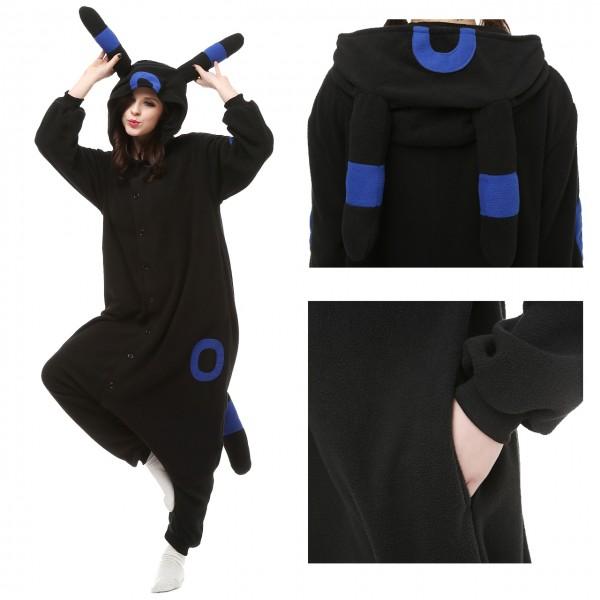 Pokemon Blue Monster Onesie Unisex Women &Men Animal Pajama Kigurumi Party Costumes