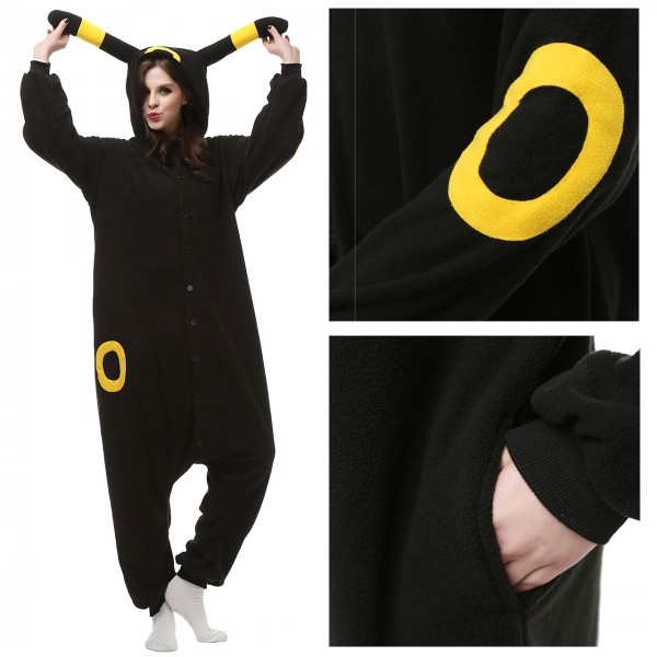 Pokemon Yellow Monster Onesie Unisex Women &Men Animal Pajama Kigurumi Party Costumes