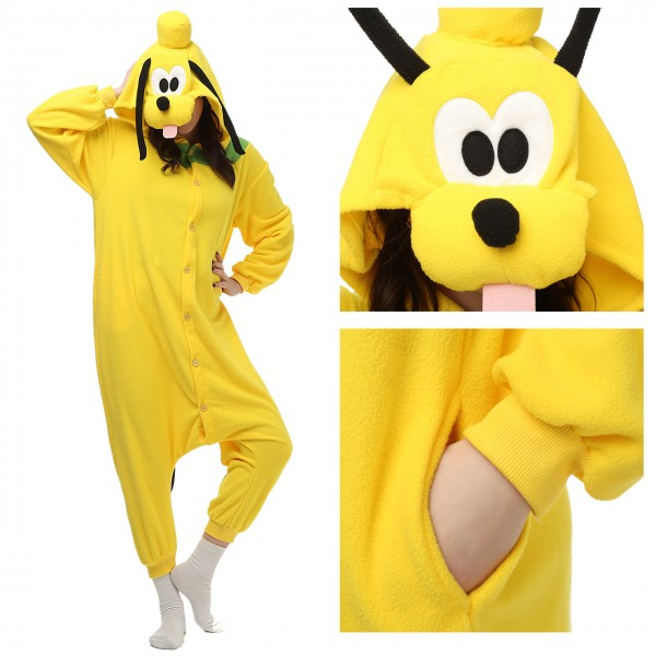 Pluto Dog Onesie Unisex Women & Men Animal Pajama Kigurumi Party Costume