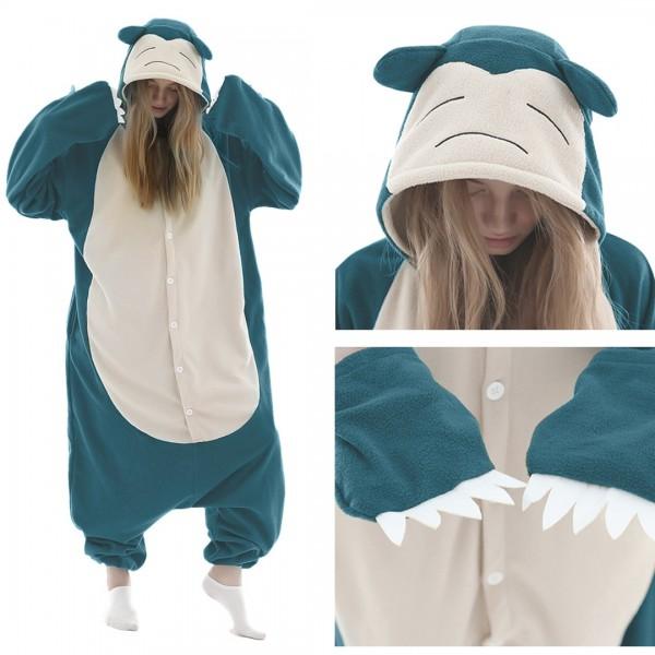 Snorlax Onesie for Adult Animal Onesies Costumes
