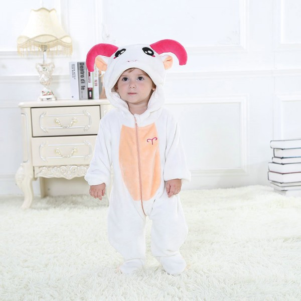 Aries Onesie for Baby & Toddler Constellation Kigurumi Pajama Halloween Costumes