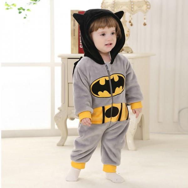 Batman Onesie for Baby & Toddler Animal Kigurumi Pajama Party Costumes