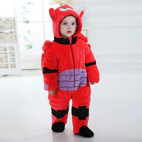 Robot Onesie for Baby & Toddler Kigurumi Pajama Cosplay Halloween Costumes