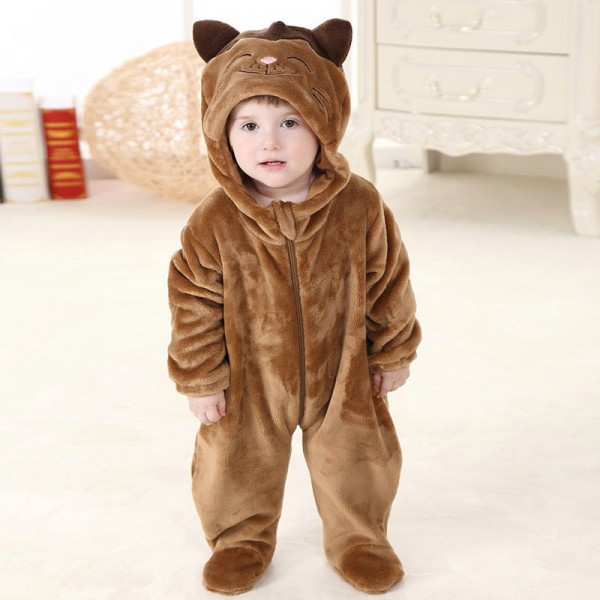 Red Panda Onesie for Baby & Toddler Animal Pajama Kigurumi Party Costume