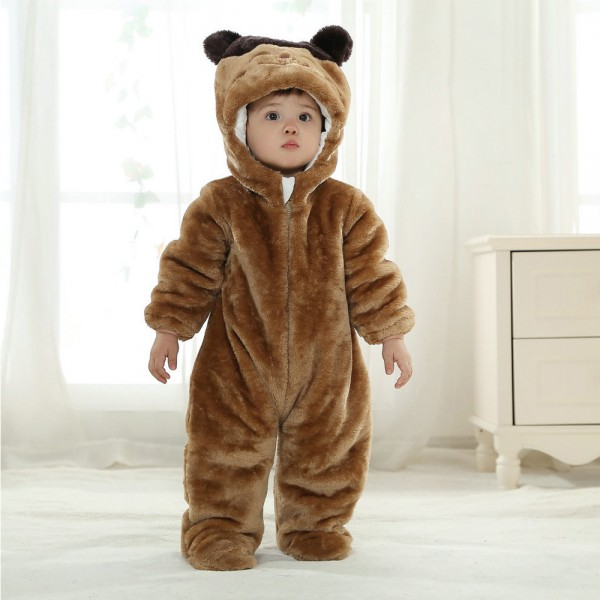 Red Panda Onesie for Baby & Toddler Animal Pajama Kigurumi Halloween Party Costume