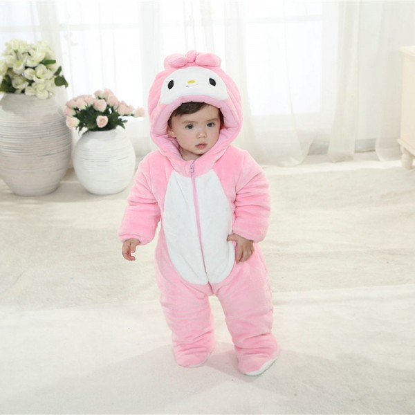 My Melody Onesie for Baby & Toddler Animal Kigurumi Pajama Halloween Costumes