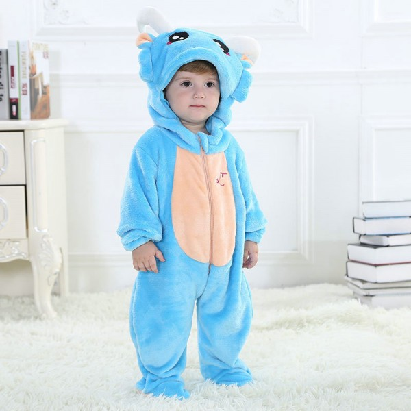 Capricornus Onesie for Baby & Toddler Constellation Kigurumi Pajama Halloween Costumes