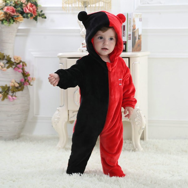 Gemini Onesie for Baby & Toddler Constellation Kigurumi Pajama Party Costumes