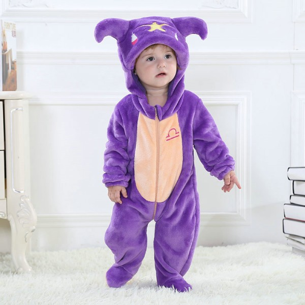 Libra Onesie for Baby & Toddler Constellation Kigurumi Pajama Party Costumes