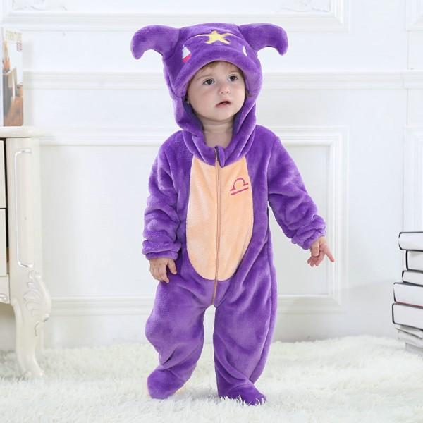Libra Onesie for Baby & Toddler Constellation Kigurumi Pajama Party Costumes