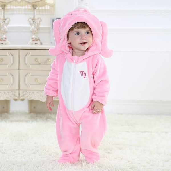 Virgo Onesie for Baby & Toddler Constellation Kigurumi Pajama Party Costumes
